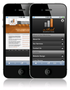 Mobile Website Design Chatham Ontario